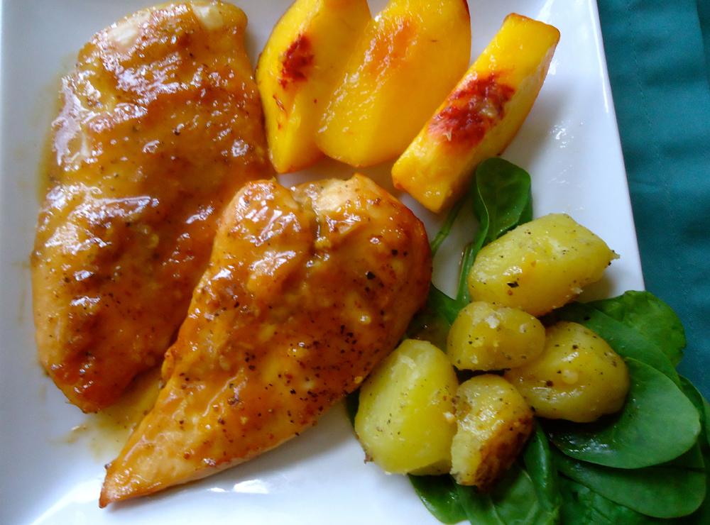 Honey and Spicy Chicken Breasts   Delizie Delizie