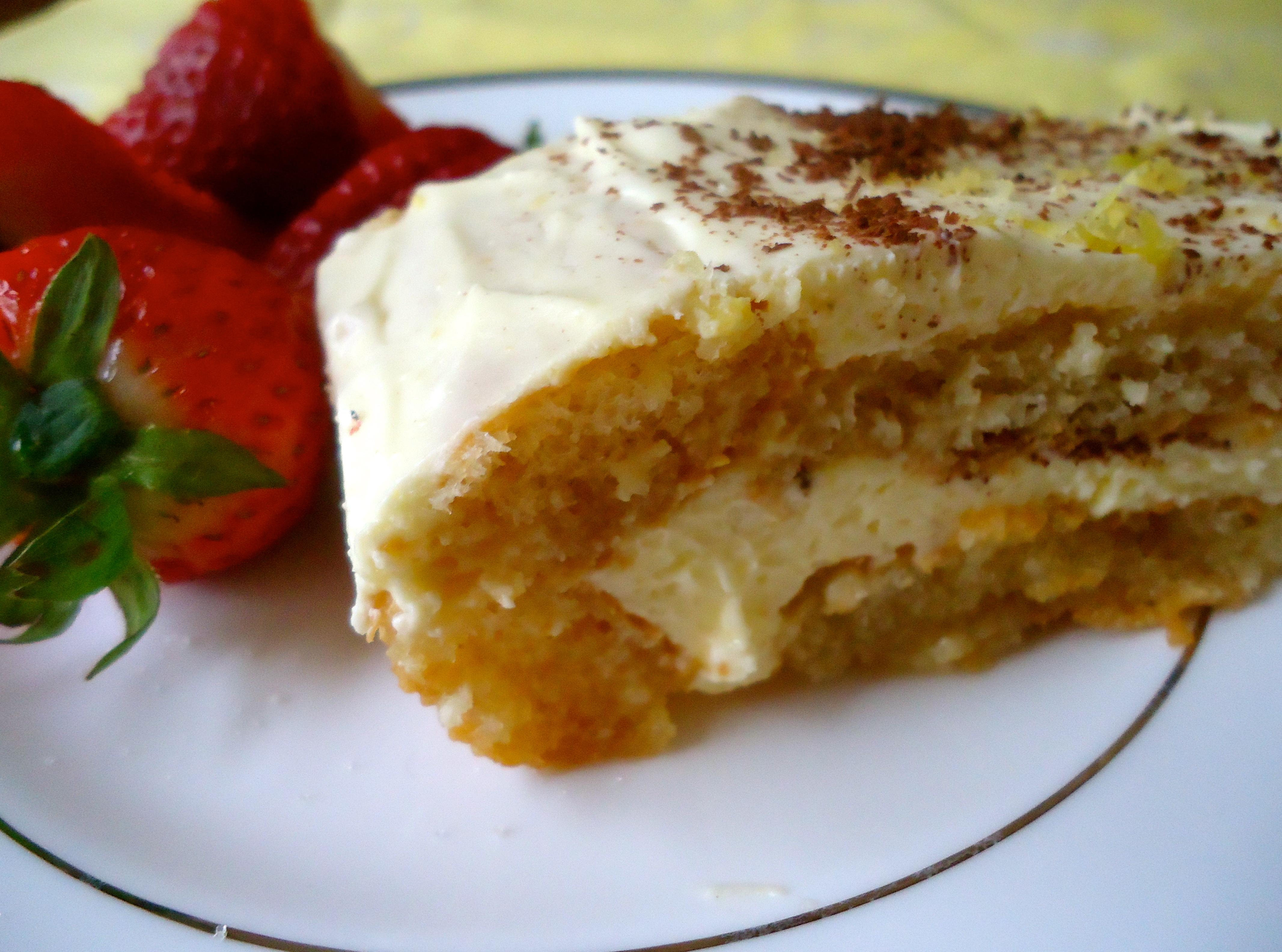 Classic Italian Birthday Cake