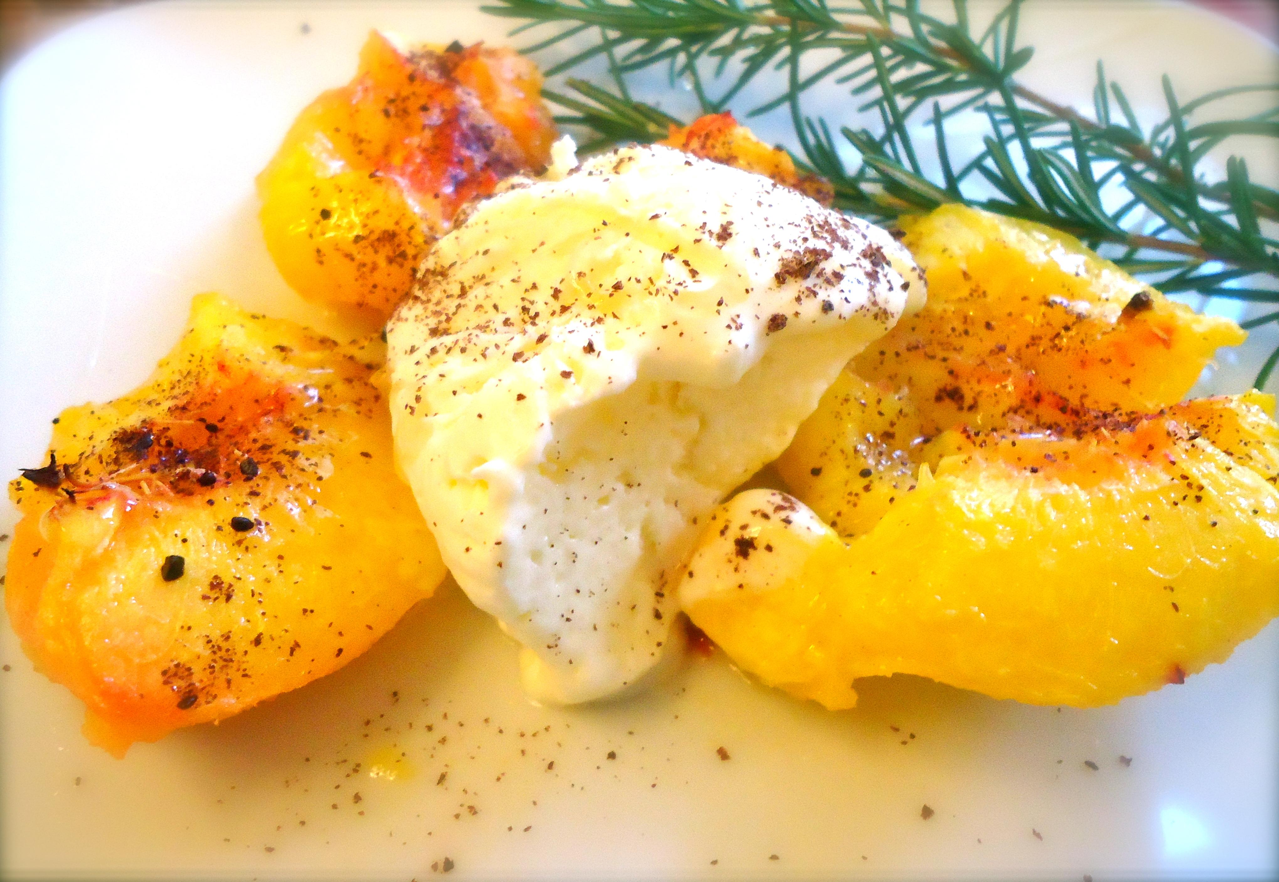 Peaches And Cream Semifreddo Recipes — Dishmaps