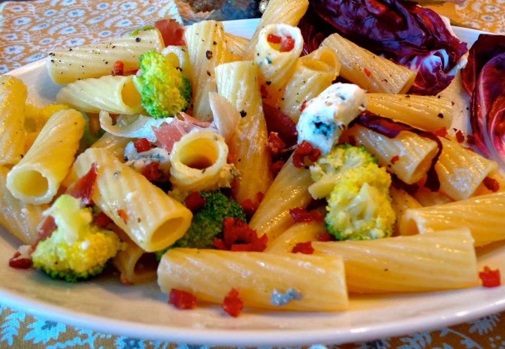 Rigatoni gorgonzola